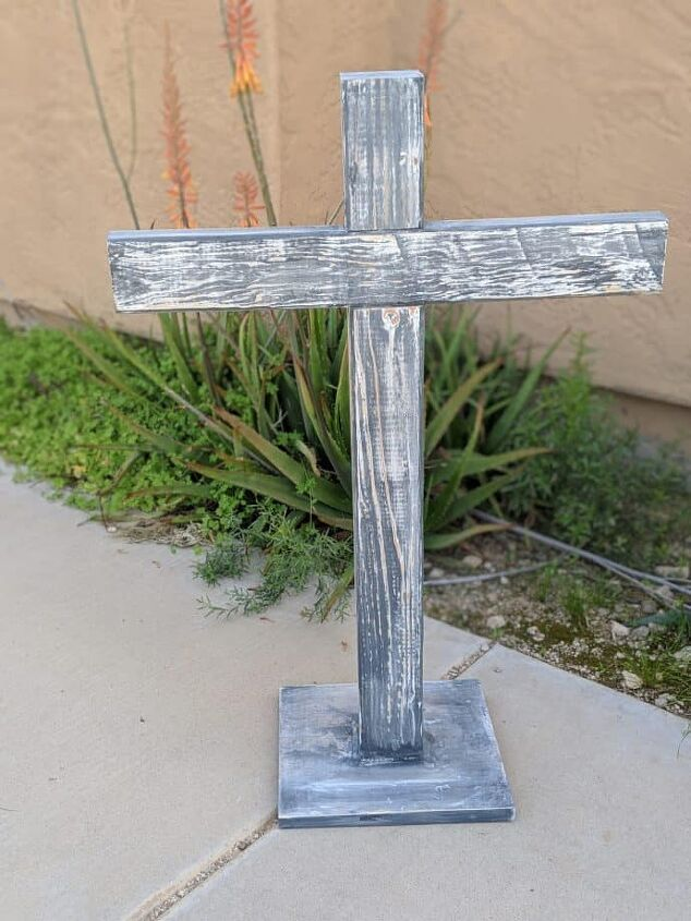make a pretty cross for easter
