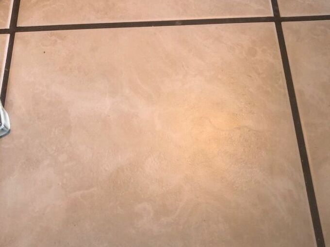 q i bought a house with tile countertop how can i cover and hide grout