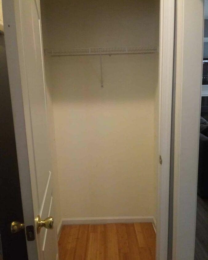 coat closet to mudroom