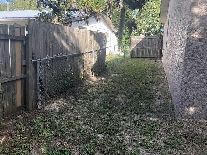 q i need ideas on what we could do with our awful backyard
