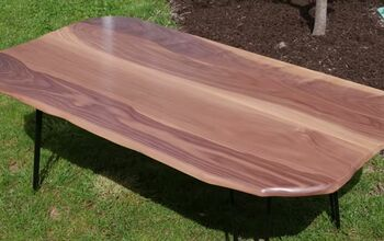 How to Create Your Own Live Edge River Table From Scratch