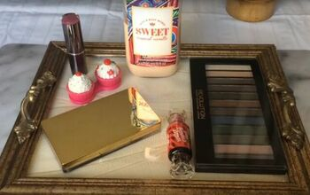 Create an Eye-Catching Home for Your Trinkets With a DIY Vanity Tray