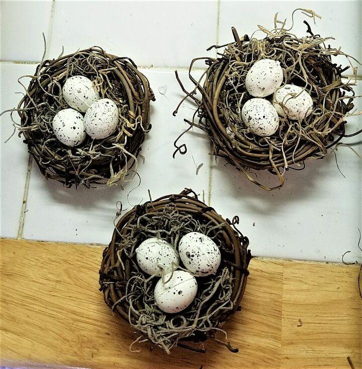 tiny egg nest magnet