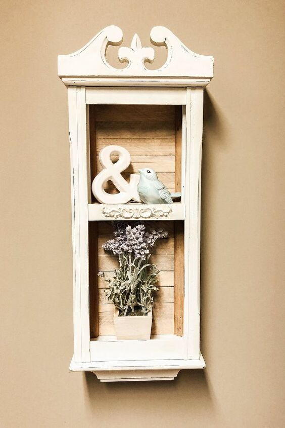 wall grandfather clock upcycle
