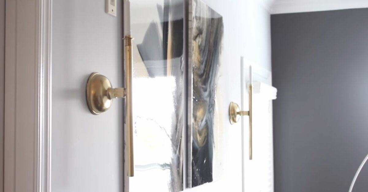 Diy Bathroom Plunger Candle Wall Sconces Hometalk
