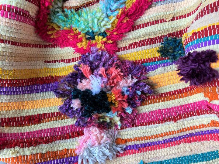 easy rag rug makeover