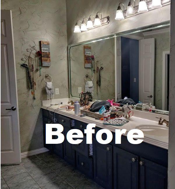 bathroom vanity upgrade