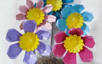 Repurposed Jello Molds Into Fun Flowers