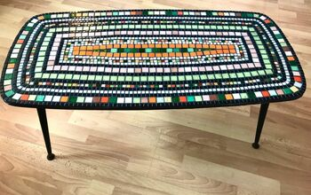 How to Transform a Coffee Table With Mosaic Art!