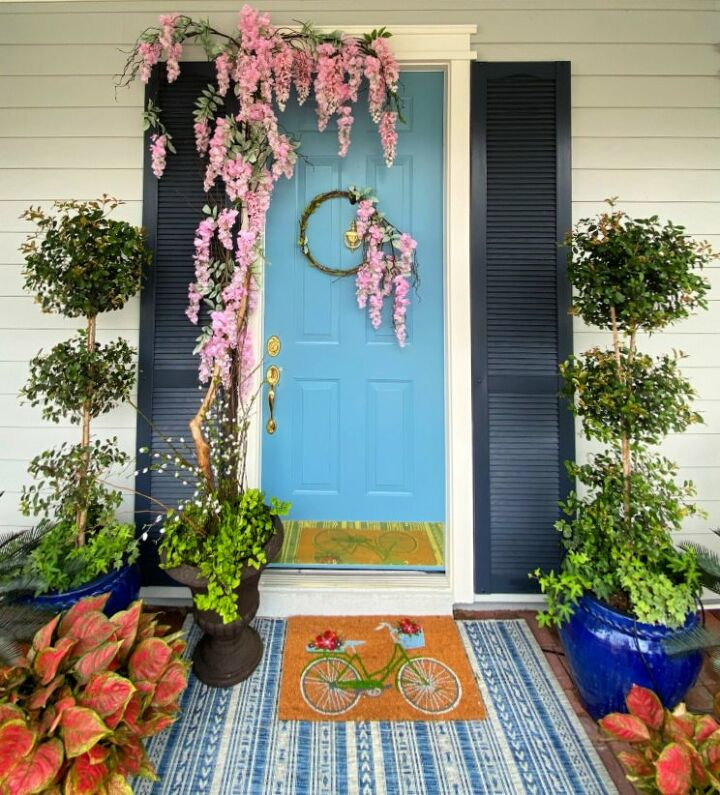 welcoming wisteria vine for spring