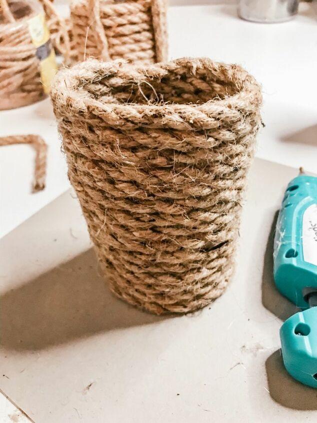 dollar tree hanging baskets