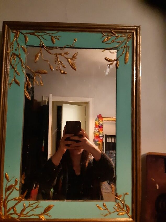 q what to do with old mirror