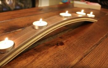 Learn How to Create a DIY Carved Wood Candelabra for Your Dining Table