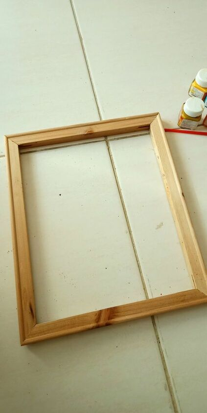 upcycling of old canvas frames