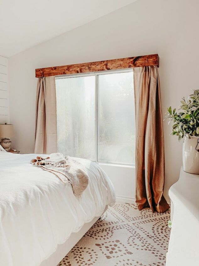 diy wood window valance
