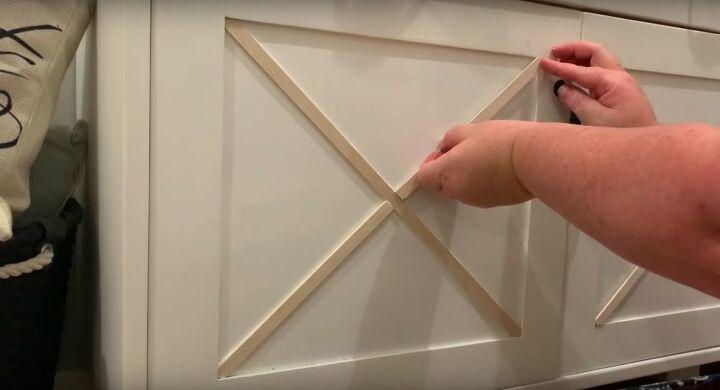 Glue the X