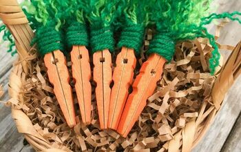 How to Make Clothespin Carrots