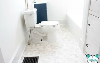 Quick and Easy Bathroom Floor Update