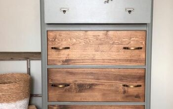 Veneer Vs. REAL WOOD Dresser Upcycle!
