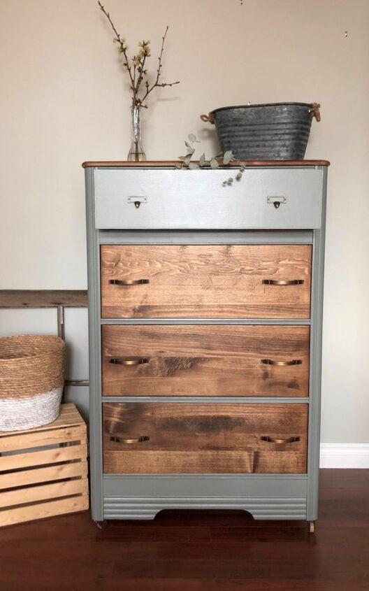 veneer vs real wood dresser upcycle