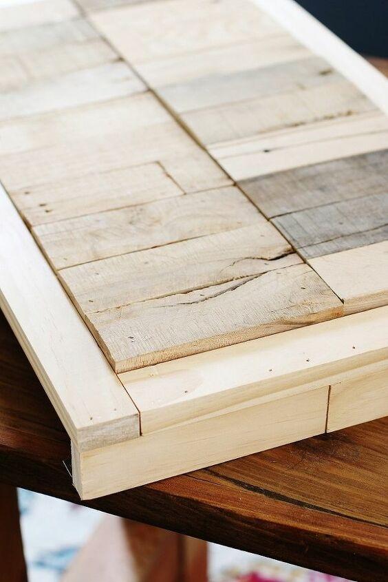 diy pallet wood cornice boards
