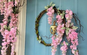 Wisteria Vine Wreath