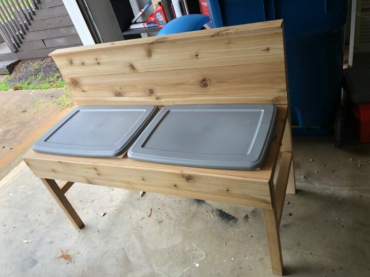 How Do I Weather Proof And Keep Bees Away From Sand Box Hometalk