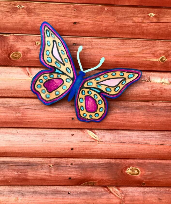 Painted garden Butterfly