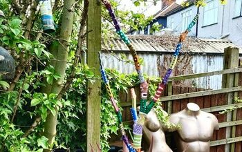 How to Give a Tree Branch a Whole New Look for Your Garden