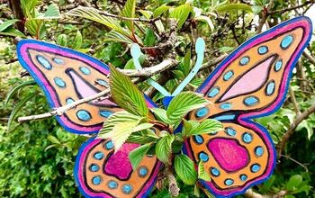 How to Paint a Beautiful Big Butterfly for Your Garden