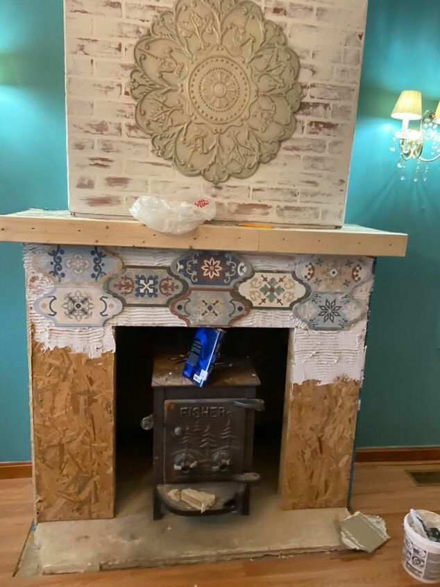 ugliest fireplace in the country