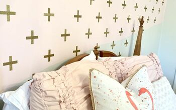 Modern Whimsical Accent Wall With Washi Tape