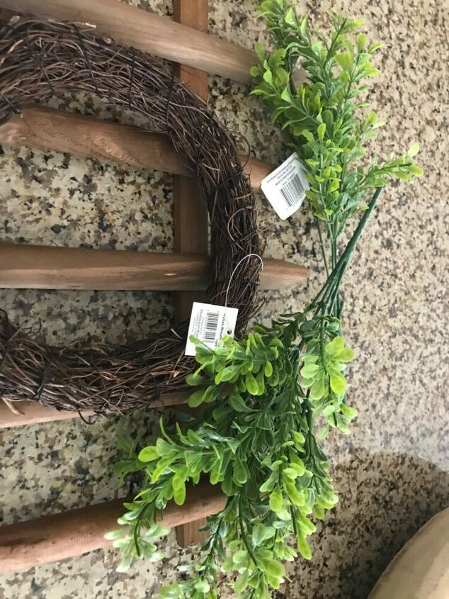 dollar store picket fence wall decor