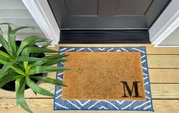 Quick and Simple Coir Doormat Refresh