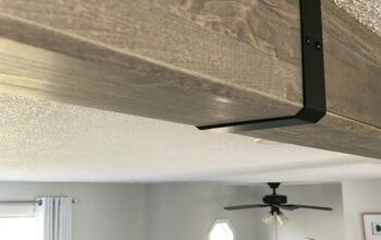 Faux Wood Beam Installation
