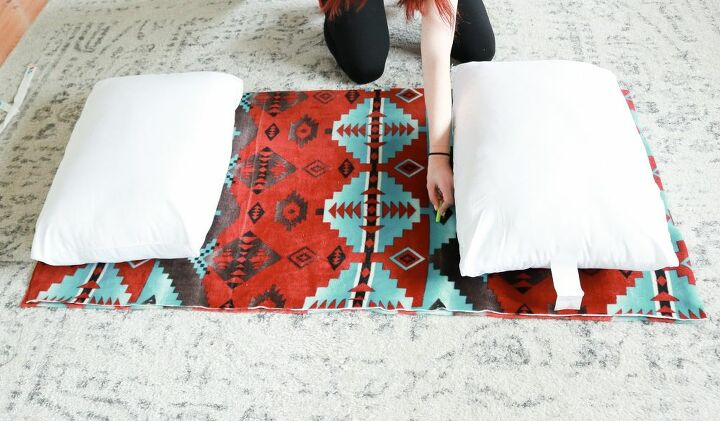 no sew pillow bed