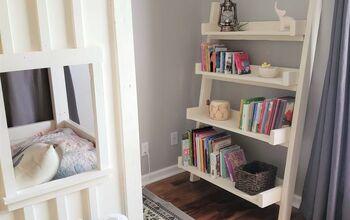 Scrap Wood Bookshelf