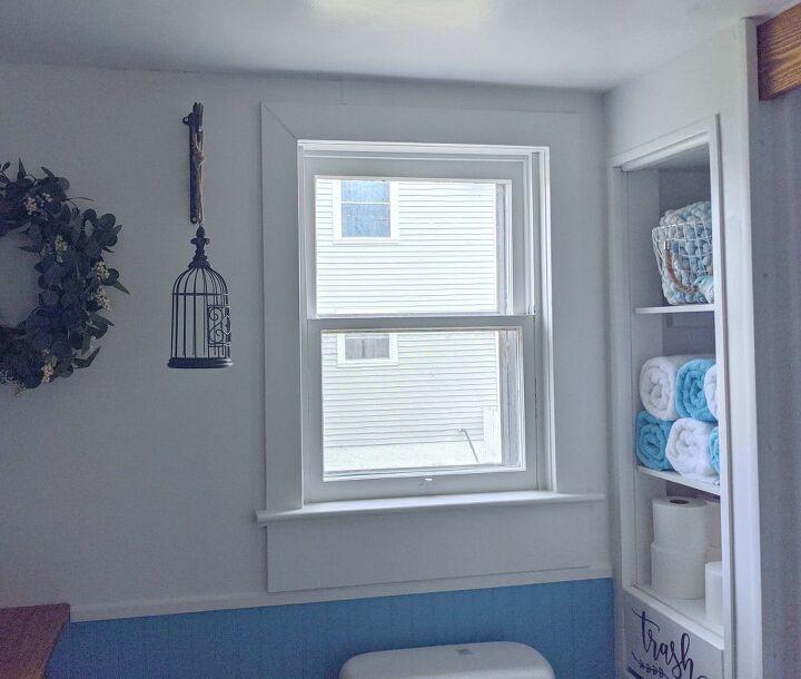 diy doves window transformation
