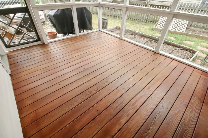 how to stain a deck with a paint sprayer