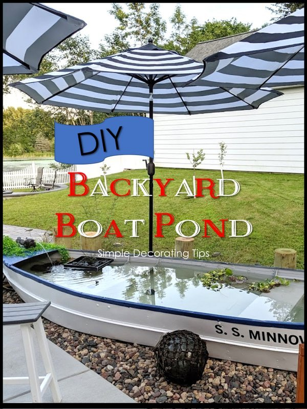 backyard boat pond