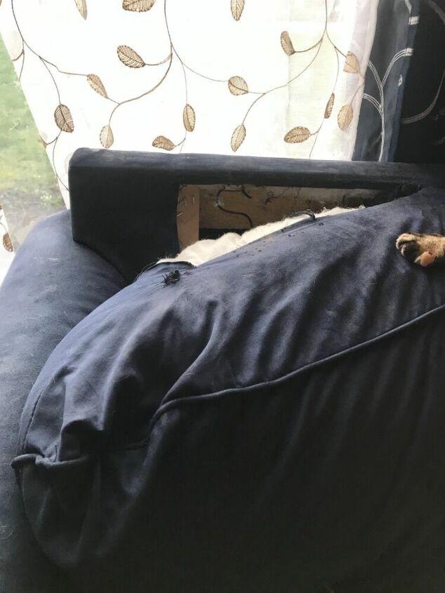 q how do i repair a love seat