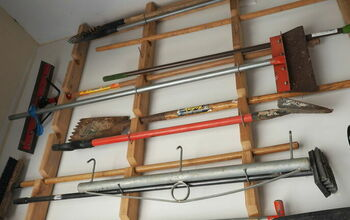 Garden Tool Storage Idea for Garage