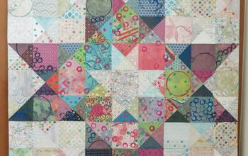 Stay At Home Goals - Large Paper Quilt