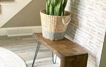 Scrap Wood Accent Table
