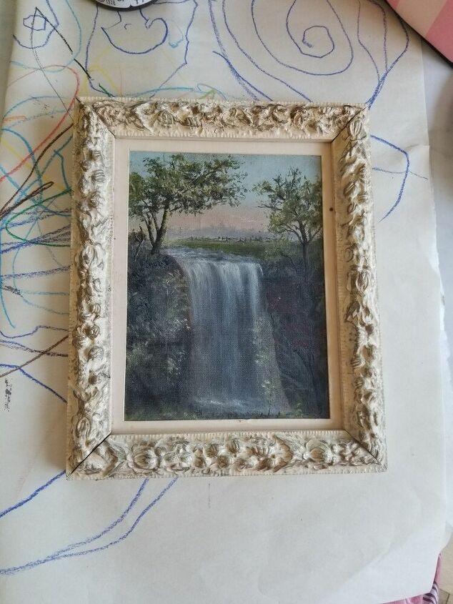 faux antique picture frame