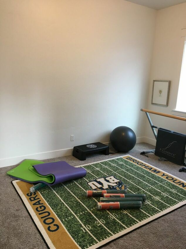 50 exercise room makeover