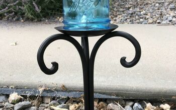 Mason Jar Solar Light Sidewalk