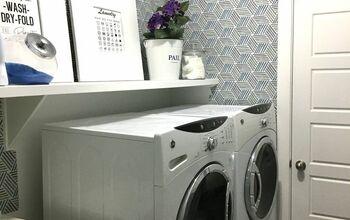Quarantined Laundry Room Makeover