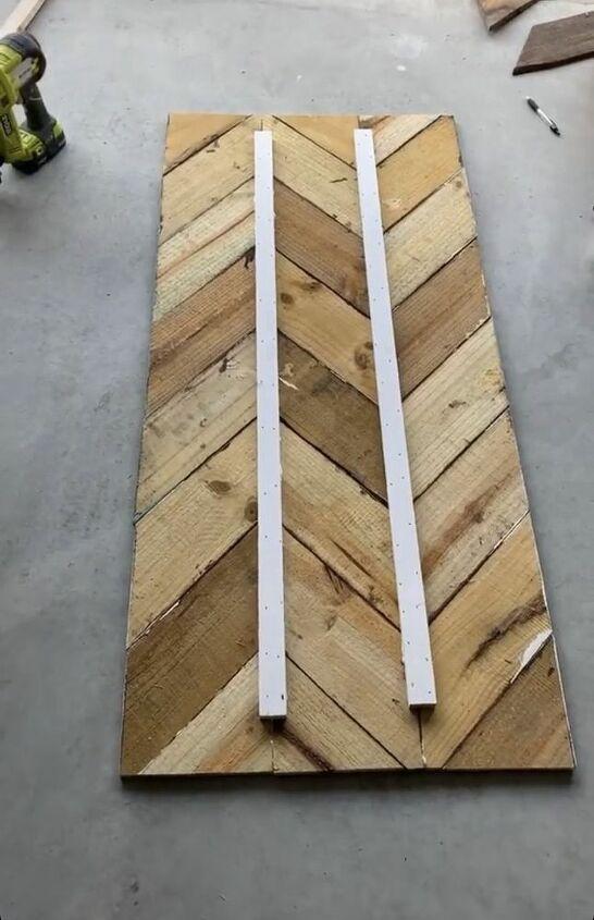 scrap wood desk