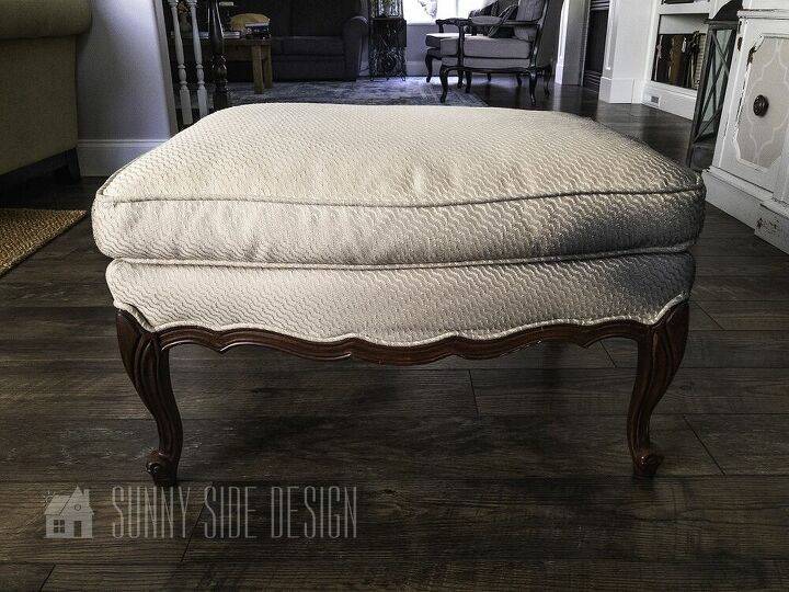 no sew upholstery tutorial